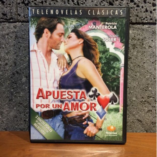 DVD Movie Series Telenovela Klasik - Apuesta Por un Amor - Import