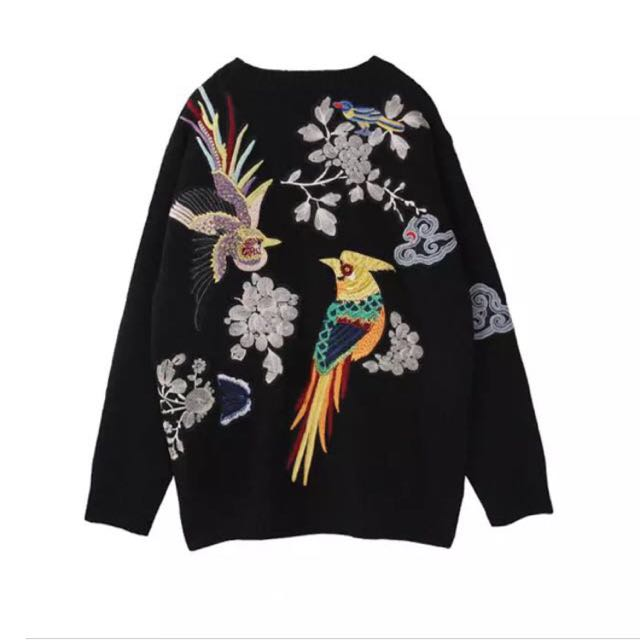 Embroidered Jumper Sweater