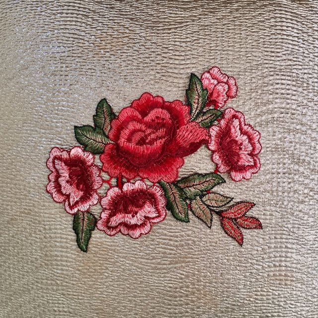 Embroidered Patch Not Iron On