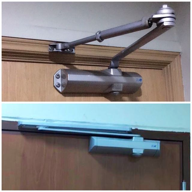 photo photo ... & Fire Rated Door Closer(V-Arm/Sliding Arm/Concealed/Door Stopper/Hold ...