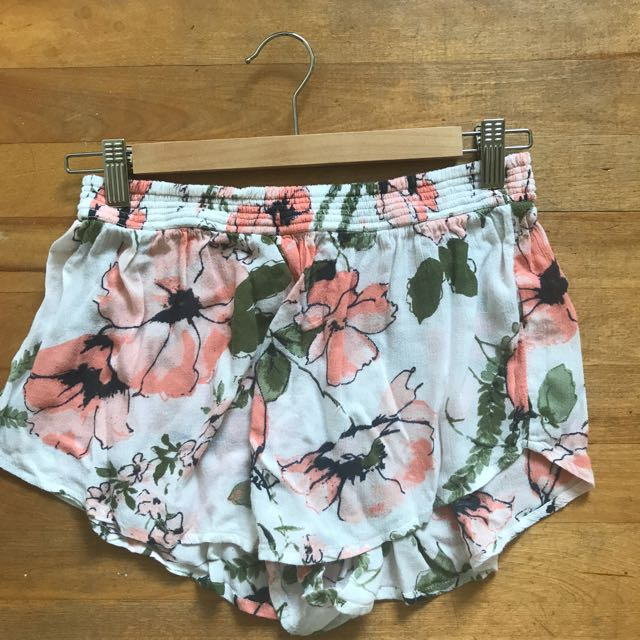 Floral Abercrombie and Fitch Shorts