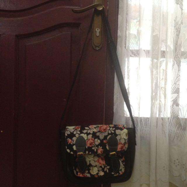 Flowers Bag/tas Selempang