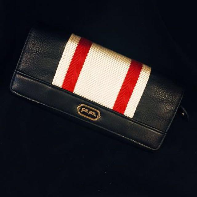 Folli Follie 日本帶回 新 長夾 皮夾 真皮 實用 多卡夾