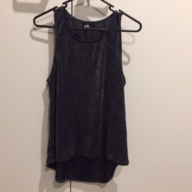 Glassons Sparkly Singlet Size 8