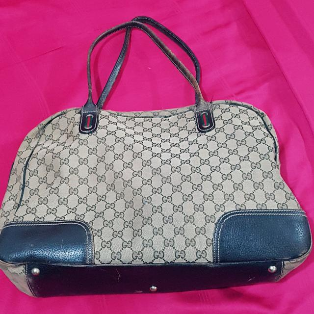 e9a14a79e6be Authentic Gucci Carry on Duffle Bag, Luxury, Bags & Wallets on Carousell