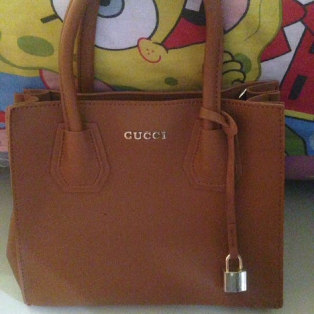 Hand Bag By Gucci