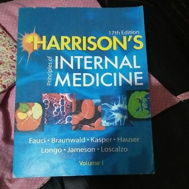 Harrison's Priviple Of Internal Medicine Ed 17th