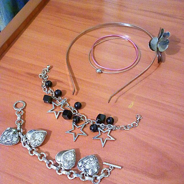 Headband/bracelets