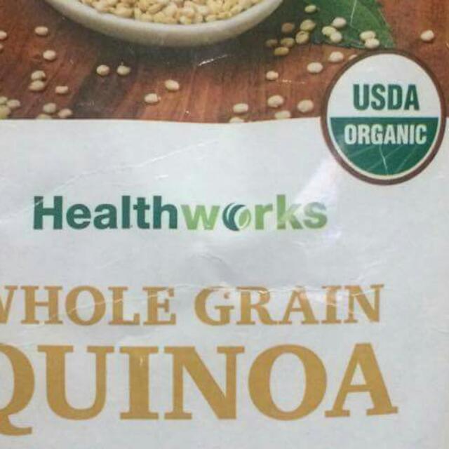 Repriced:Healthworks Whole Grain Quinoa - 2 Lbs