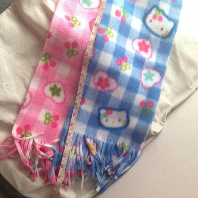 Hello Kitty Blue & Pink Shawl