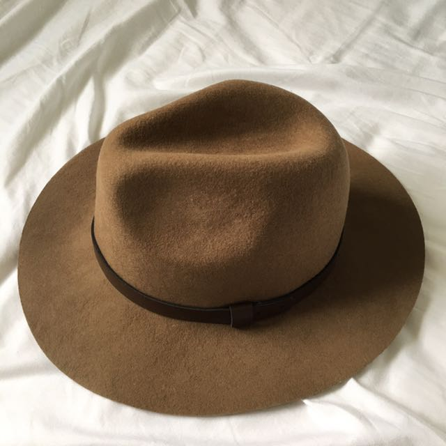 H&M Brown Fedora Hat