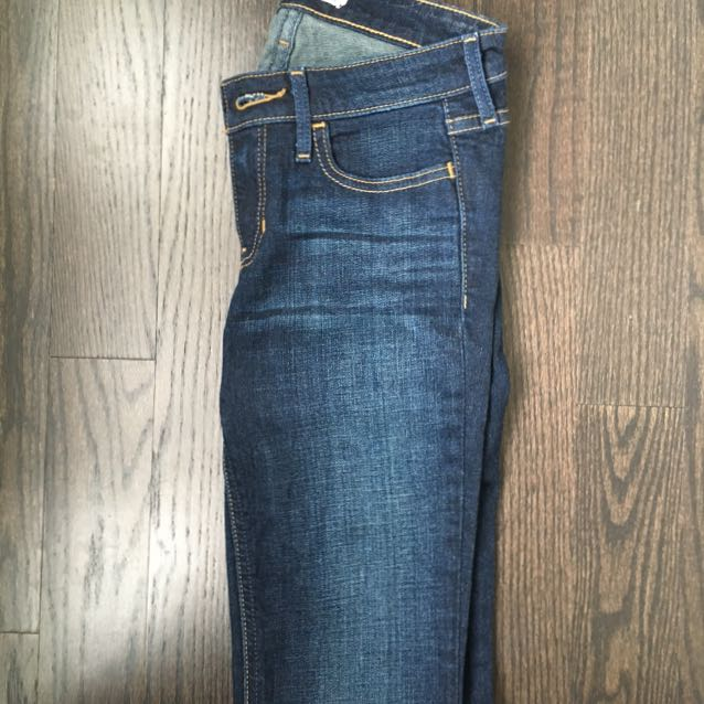 Hollister Original Skinny Jeans In Dark Wash