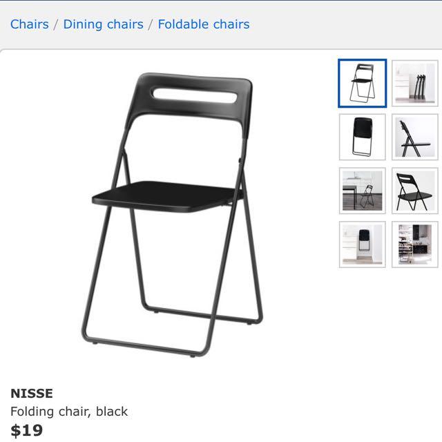 white chairs ikea nisse folding chair high. Brilliant White Photo And White Chairs Ikea Nisse Folding Chair High H