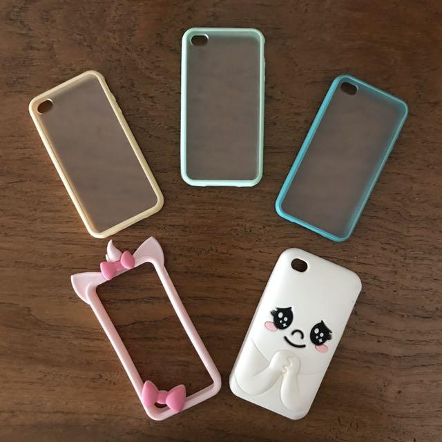 iPhone 4 Cases (5 pcs)