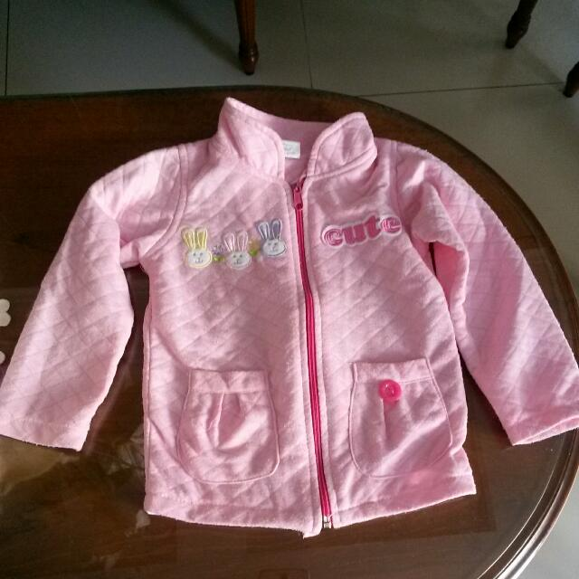 jaket Pink Cute
