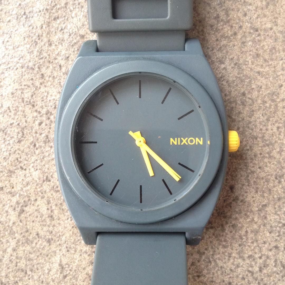 jam tangan nixon time teller watch original