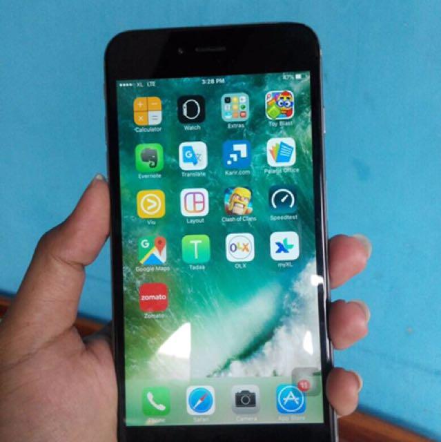 Jual Cepet IPhone 6 Plus 16Gb Grey d1af91fe02