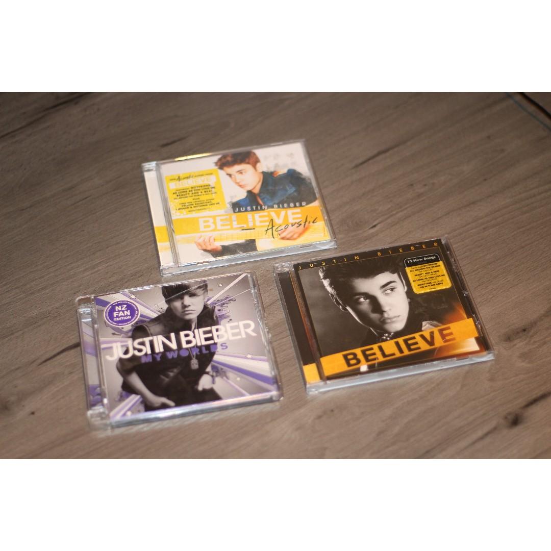 Justin Bieber CD's
