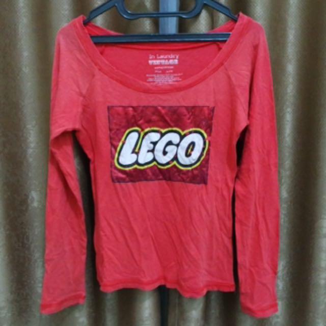 Kaos Lengan Panjang Lego