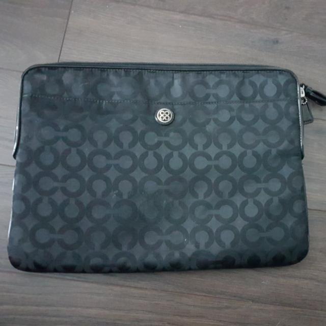 laptop case coach