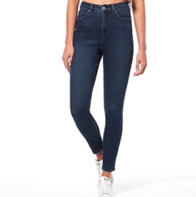 Lee High Waist Jeans Ankle Crop 11