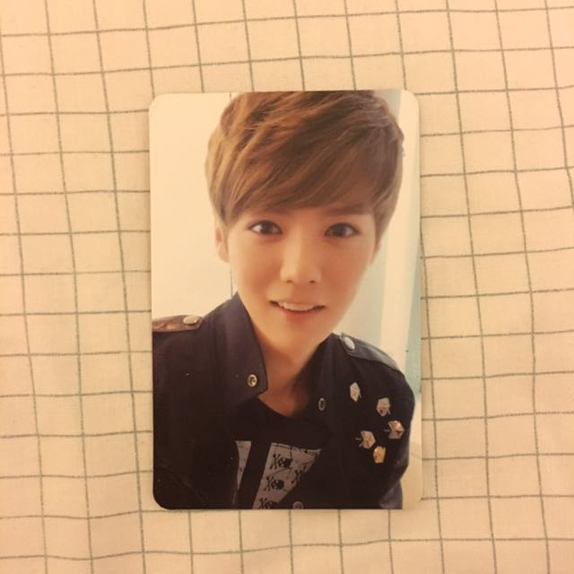 EXO Luhan Mama Ver.B Official Photocard