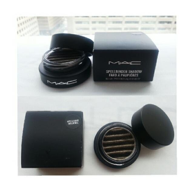 MAC Spellbinder Eyeshadow (Gold&black)