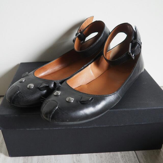 Marc Jacobs Mouse Ankle Strap Flats