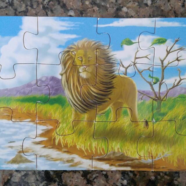 Melissa & Doug Wood Puzzle Ages 3+