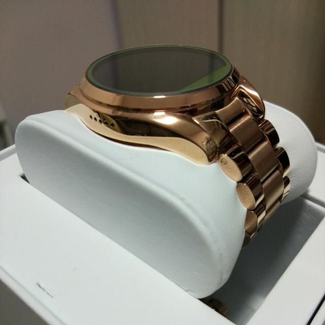 578c47cfe4a55 Michael Kors Access Ladies  Bradshaw Rose Gold-Tone Display ...