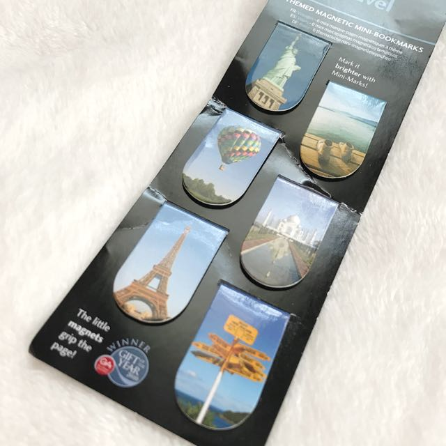 Mini Bookmarks (Travel)
