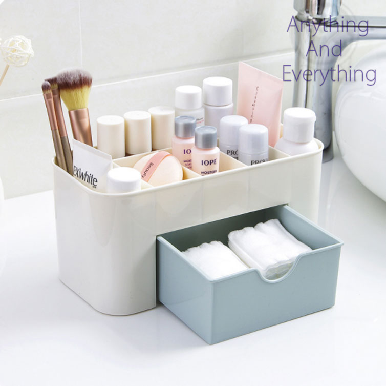Multipurpose Make Up Organizer With A Mini Draw