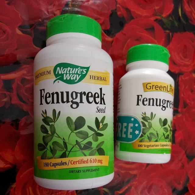 Nature's Way Fenugreek Seed 610mg Capsules 180cap, Babies & Kids, Nursing & Feeding on Carousell