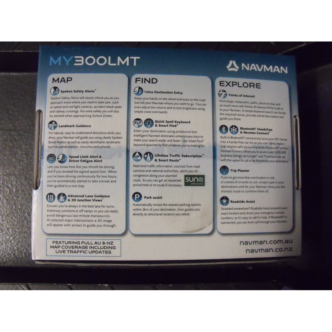Navman MY300LMT Car GPS System - Excellent Cond