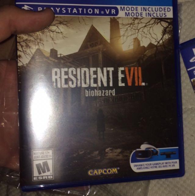 New Resident Evil 7