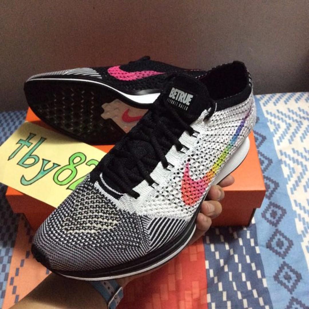 e3e87d5970007 Nike Flyknit Racer Be True Men s Authletic Running Shoes