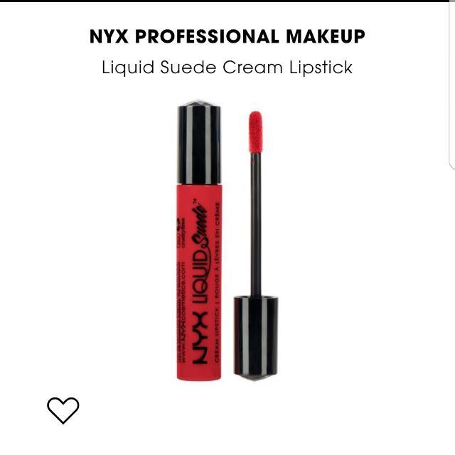Authentic NYX PROFESSIONAL MAKEUP Liquid Suede Cream Lipstick ( KITTEN HEELS )