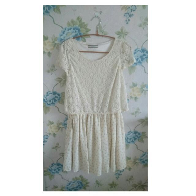 ollive des olive夏日森林系小清新洋裝