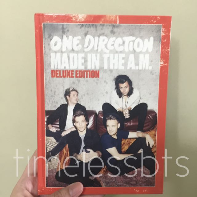 [SOLD] One Direction Made In The AM Deluxe CD