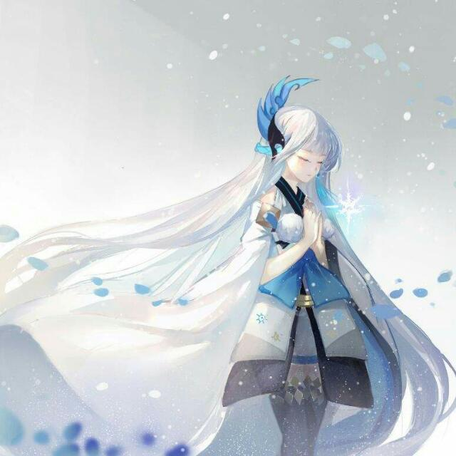 Onmyoji Yuki Onna Cosplay Urgent Wts Entertainment J Pop On Carousell
