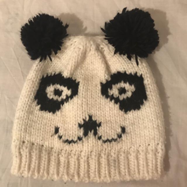 ♻️ Panda Beanie