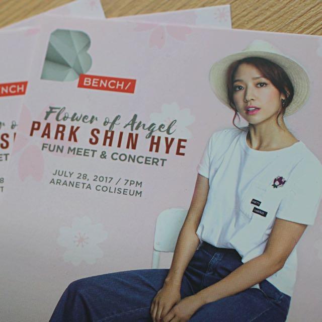 Park Shin Hye Patron Tix