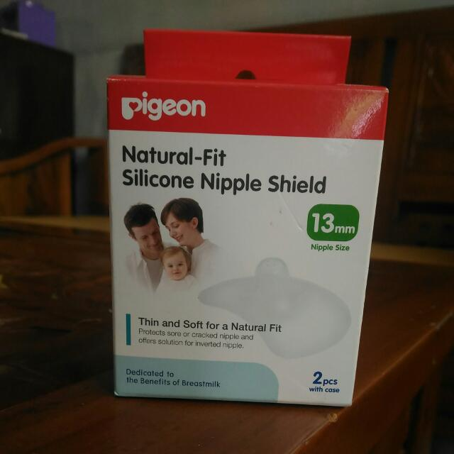 Pigeon Natural Fit Silicone Nipple Shield