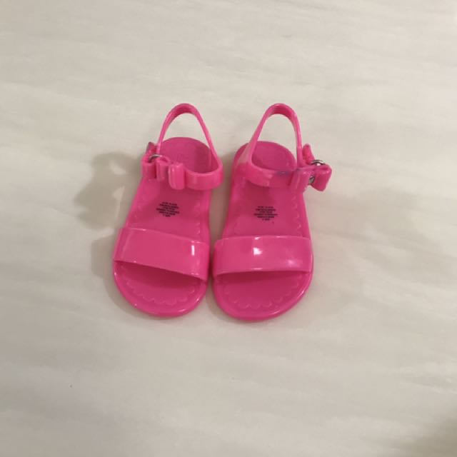 6a6e95cd6965 Pink Jelly Sandals (Baby Gap)