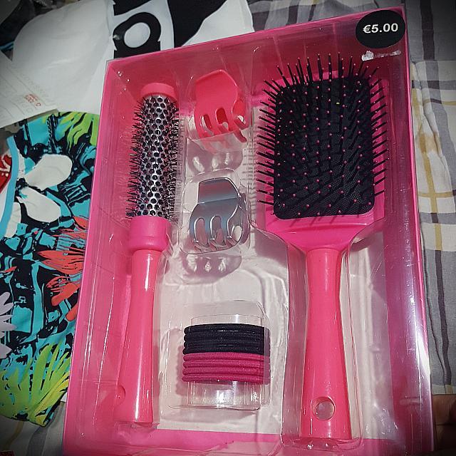🎀Primark Pink Brush Set