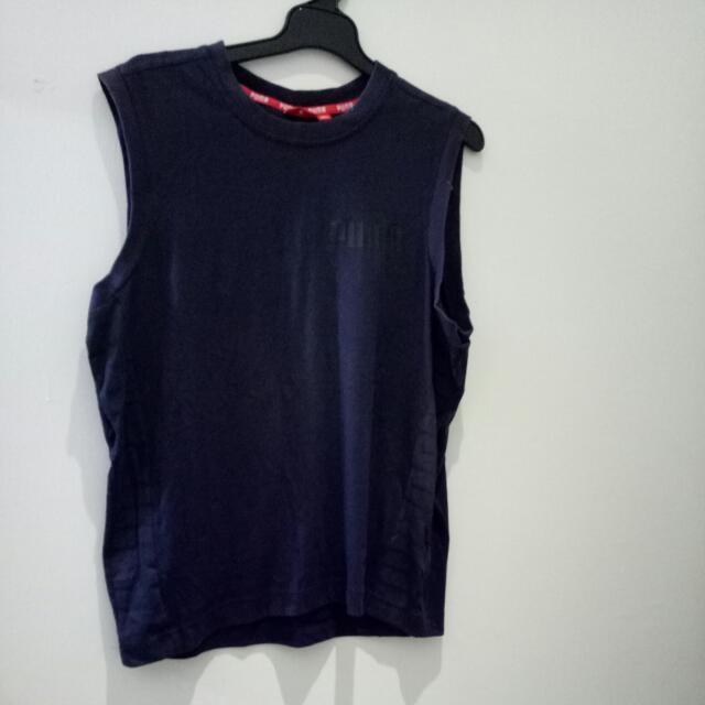 PUMA 運動衫 深藍 2L