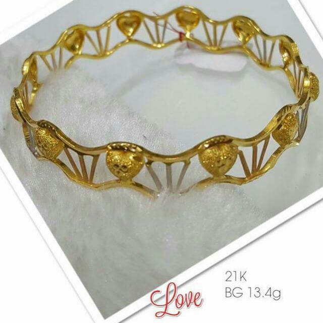 Pure Gold bangle