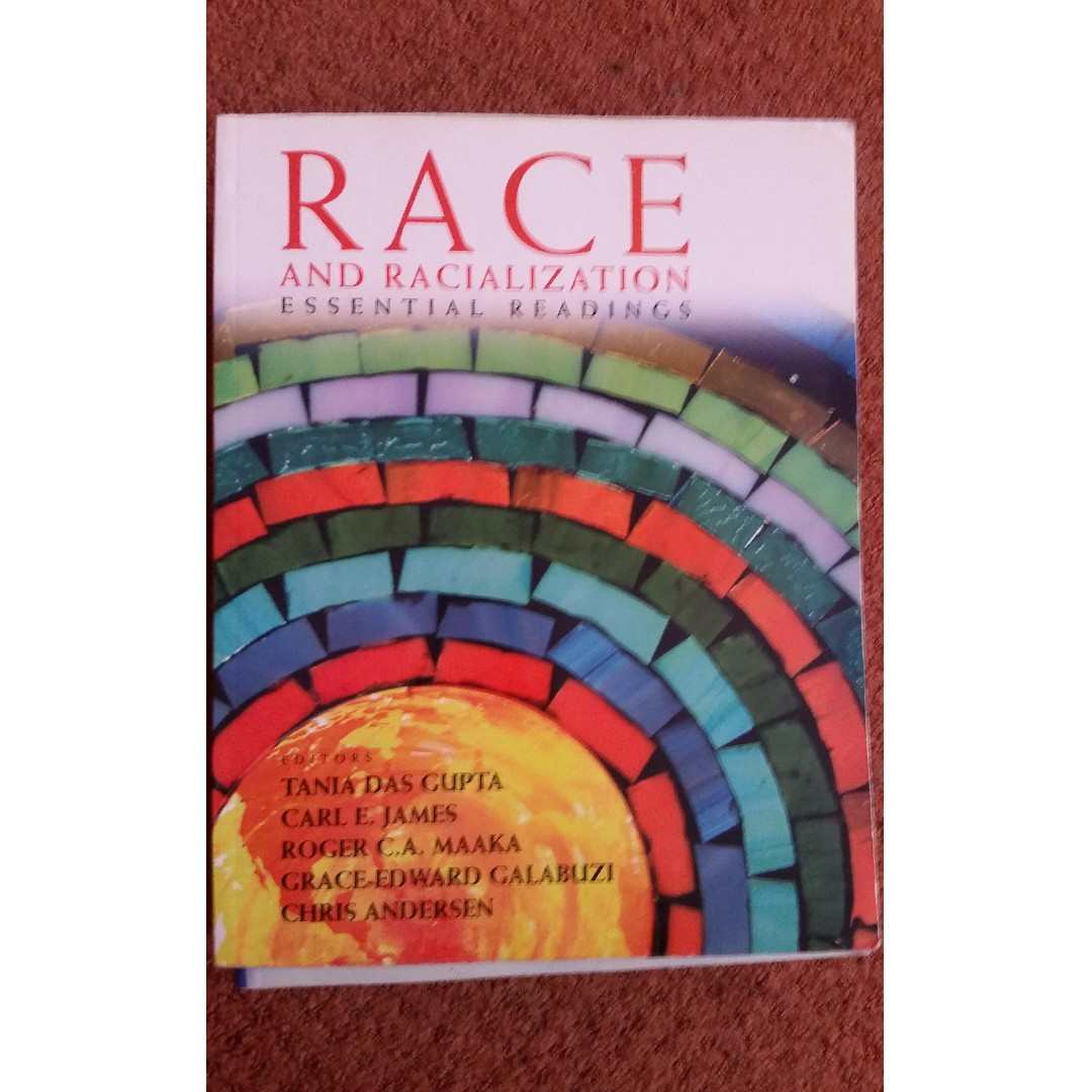 Race and rationalization essential readings
