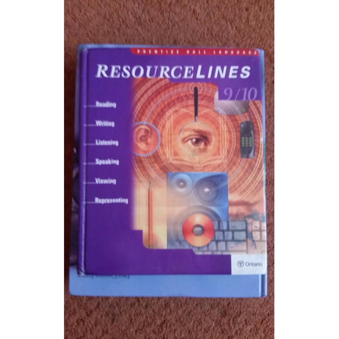 ResourceLine Grade 9/10