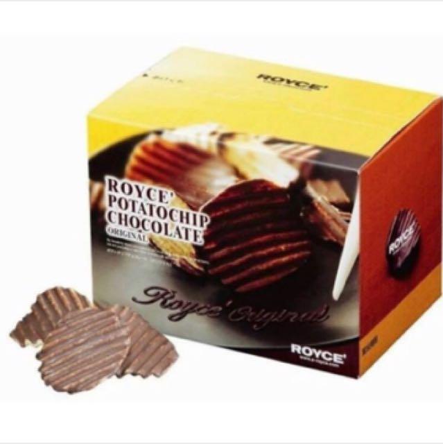 (🇯🇵日本名產)ROYCE 巧克力洋芋片
